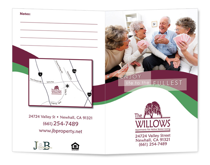 The Willows Brochure